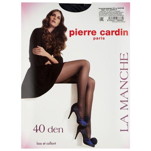 Колготки Pierre Cardin La Manche, Basic Line 40 den, размер IV-L, nero (черный) чулки pierre cardin la rochelle basic line 20 den размер iv l nero