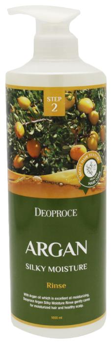 Deoproce ополаскиватель Argan silky moisture