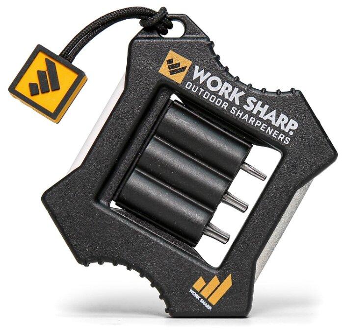 Купить Механическая точилка Work Sharp Micro Sharpener & Knife Tool (WSEDCMCR-I) керамика\алмазное покрытие черный по низкой цене с доставкой из Яндекс.Маркета