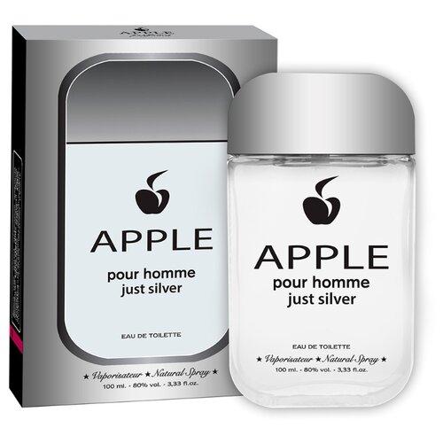 Купить Туалетная вода Apple Parfums Apple pour Homme Just Silver, 100 мл