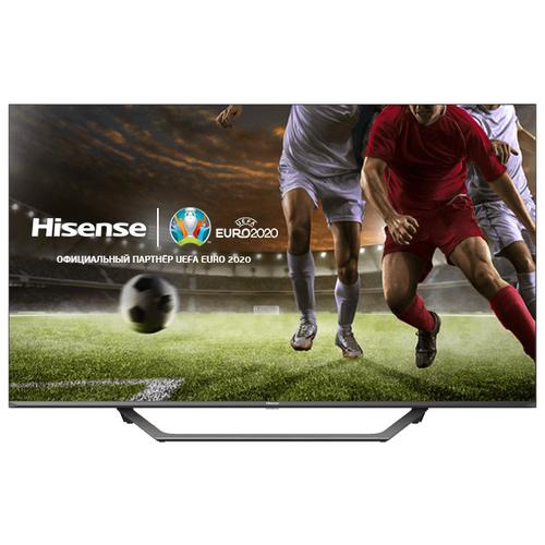 Фото - Телевизор Hisense 55AE7400F 55 серый/черный телевизор hisense 50a7300f 50 2020 черный