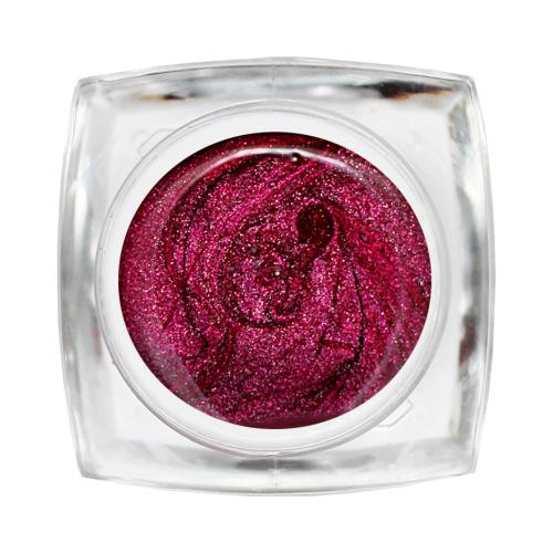 Краска Nika Nagel Stretch-gel (паутинка металлик) розовый металлик