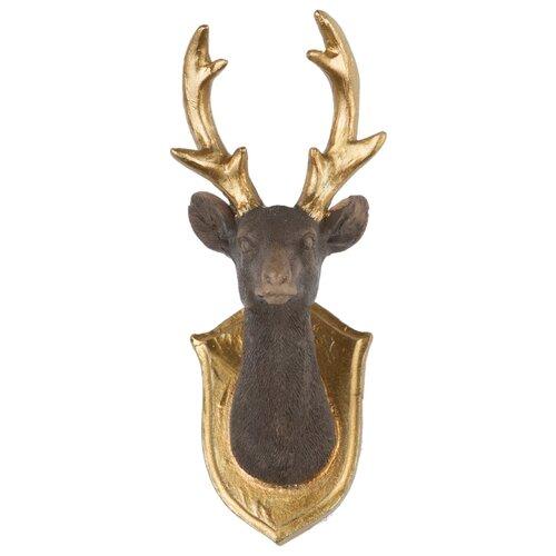Набор елочных игрушек KARLSBACH 08750, коричневый/золотой