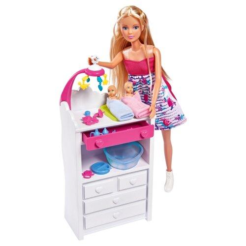 Купить Кукла Steffi Love Штеффи беременная Двойняшки, 29 см, 5733333, Simba, Куклы и пупсы