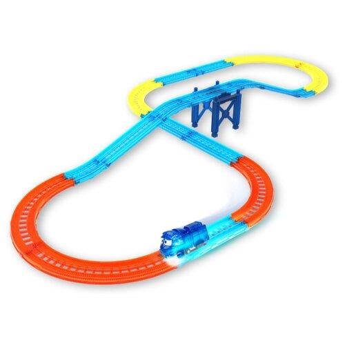 Игровой набор Robot Trains Железная дорога (поезд с подсветкой) (80187)