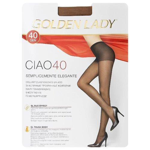 Колготки Golden Lady Ciao, 40 den, размер 3-M, playa (бежевый) колготки golden lady vely 40 den размер 3 m playa бежевый