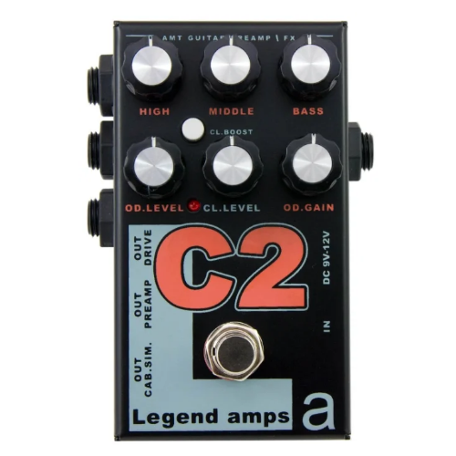 AMT Electronics Предусилитель C2 Legend Amps 2