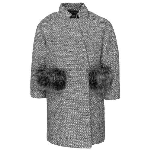 Купить Пальто Gulliver 21907GJC4502 размер 152, серый, Пальто и плащи