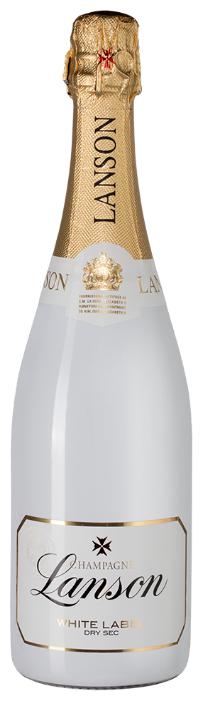 Шампанское Lanson White Label Dry-Sec, 0.75л