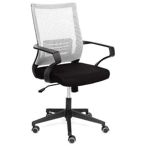 Компьютерное кресло TetChair Mesh-4 для руководителя, обивка: текстиль, цвет: черный/серый по цене 7 790
