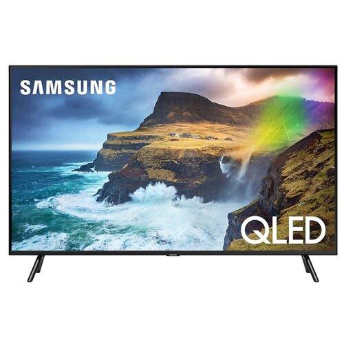 Фото - Телевизор QLED Samsung QE49Q77RAU 49 (2019) черный графит телевизор qled samsung qe49q77rau 49 2019 черный графит