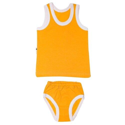 Фото - Комплект одежды Клякса размер 26, желтый комплект одежды клякса размер 86 желтый