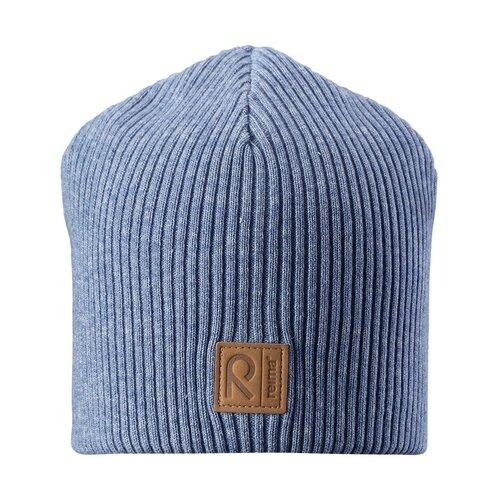 Шапка Reima размер 50, 6740 синий шапка для мальчика reima синий