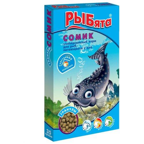 цена на Сухой корм для рыб Зоомир Рыбята Сомик гранулированный 35 г