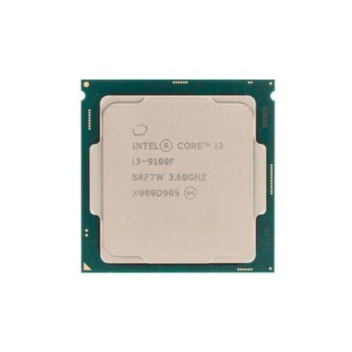 Процессор Intel Core i3-9100F OEM процессор intel core i3 8350k oem