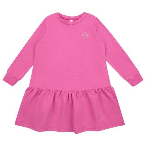 Платье Leader Kids размер 104, малиновый платье мамуляндия размер 104 малиновый