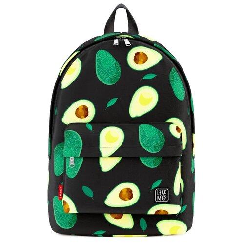 Купить Like Me рюкзак Classic Print Авокадо, черный, Рюкзаки, ранцы