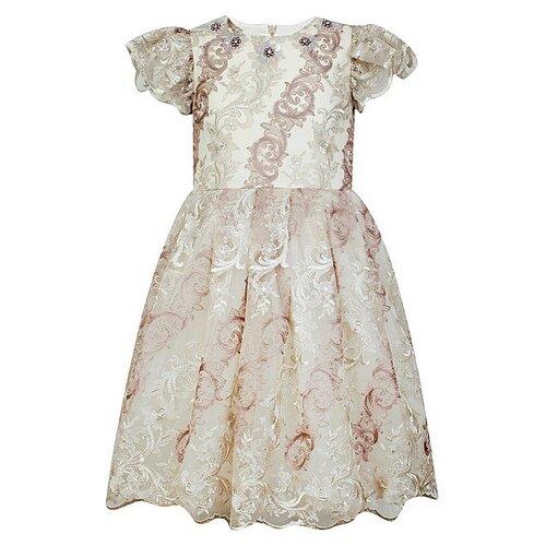 Платье EIRENE размер 92-98, бежевый платье eirene размер 170 черный желтый красный