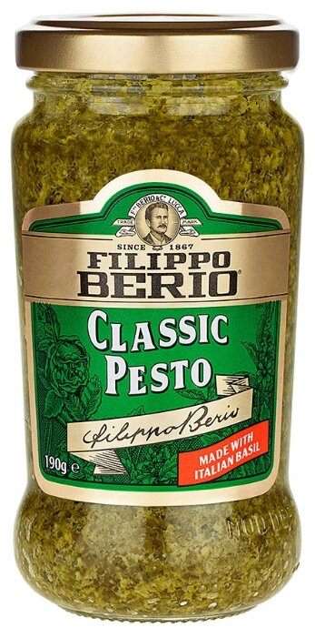 Соус Filippo Berio Classic pesto, 190 г