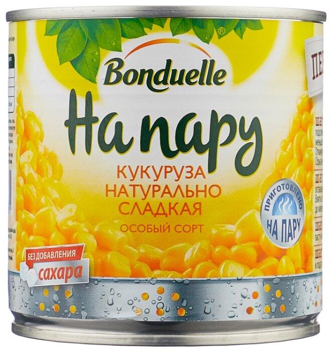 """Кукуруза Бондюэль сладкая """"На пару"""" 340г (с ключом)"""