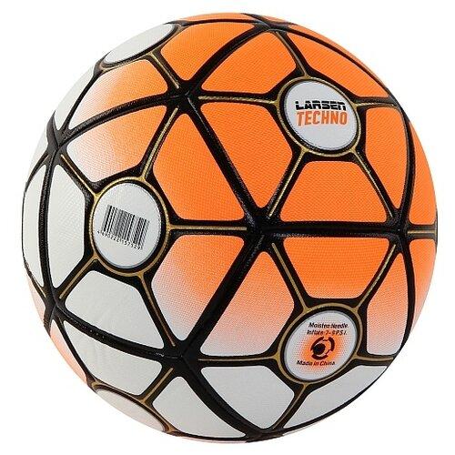 Фото - Футбольный мяч Larsen Techno orange 5 мяч larsen duplex 5 301716