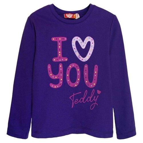 Купить Лонгслив Let's Go размер 152, фиолетовый, Футболки и майки