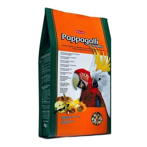 Padovan корм Grandmix Pappagalli для крупных попугаев 2000 г