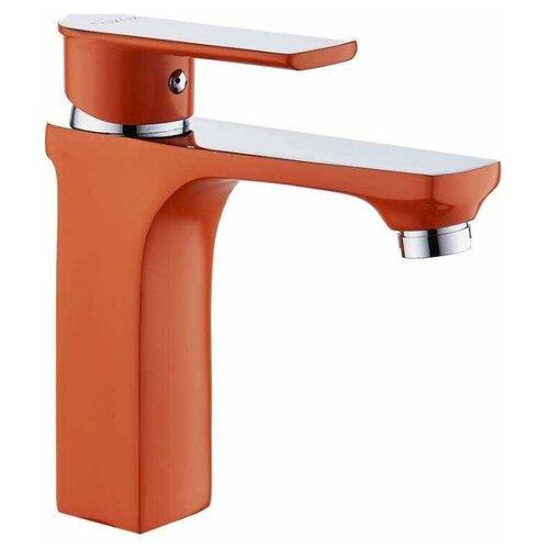 смеситель для раковины d Смеситель D&K Berlin Kunste DA1432113 для раковины, оранжевый