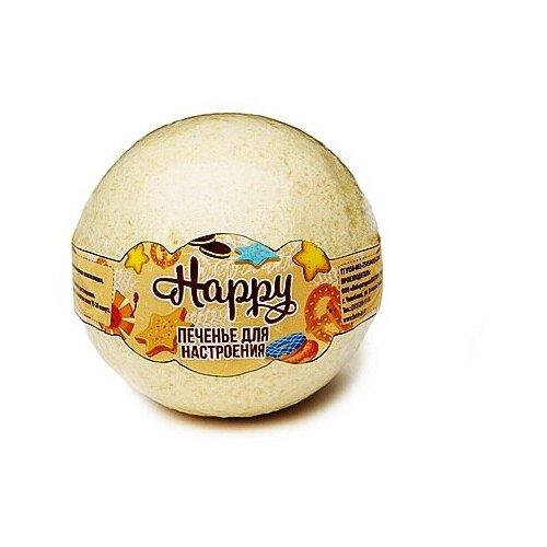 Лаборатория Катрин Happy Бурлящий шар для ванн Печенье для настроения, 130 г фото