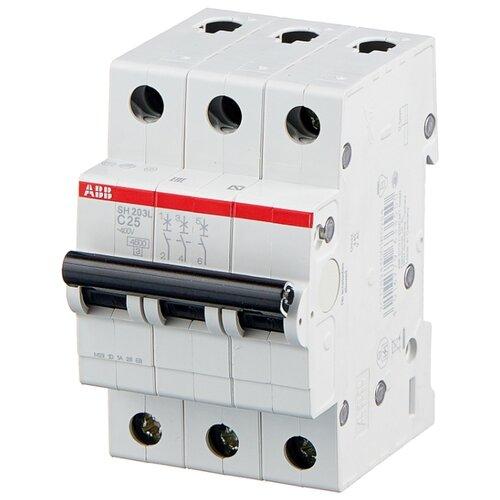 Автоматический выключатель ABB S203 3P (C) 6kA 3 А