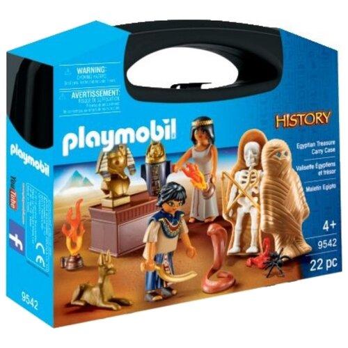 Купить Набор с элементами конструктора Playmobil History 9542 Возьми с собой: Египет, Конструкторы