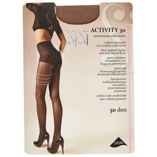 Фото - Колготки Sisi Activity 30 den, размер 3-M, miele (коричневый) колготки sisi activity 30 den размер 3 m naturelle бежевый
