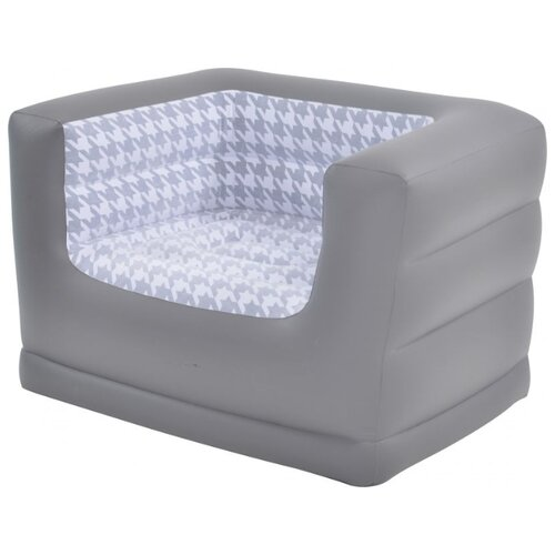 Надувное кресло Jilong Deluxe Armchair 27485 серый
