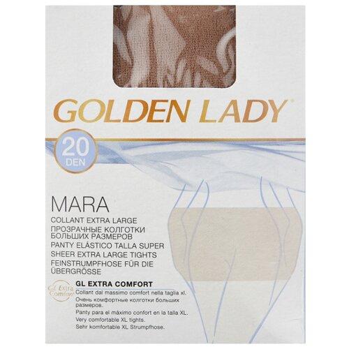 Колготки Golden Lady Mara 20 den, размер 5-XL, melon (бежевый) колготки golden lady mara 20 den размер 6 xxl melon бежевый