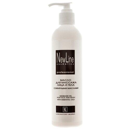 Масло для тела NewLine для массажа с эфирными маслами, 300 мл какое масло используют для массажа тела