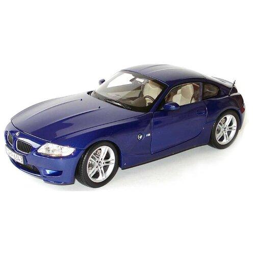 Купить Легковой автомобиль Bburago BMW Z4 M Coupe (18-43000/13) 1:32 синий, Машинки и техника