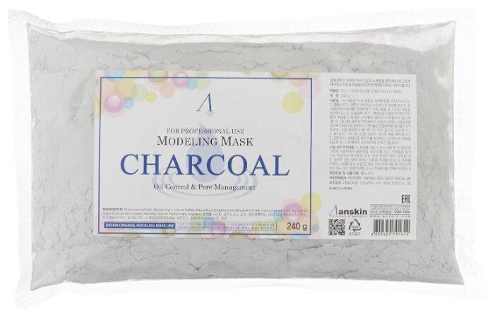 Anskin маска альгинатная Charcoal для жирной кожи с расширенными порами, 25 г