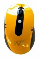 Мышь IVT M0208 Black-Yellow USB