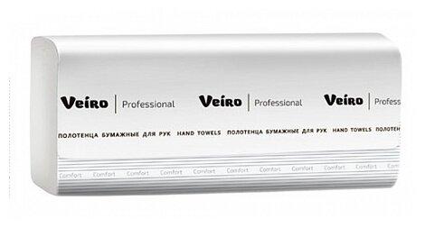 Полотенца бумажные VEIRO PROFESSIONAL Comfort 150 шт 2-ух слойная