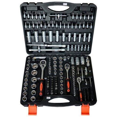 Фото - Набор инструментов Partner (172 предм.) PA-40172 черный/оранжевый набор инструментов sparta 6 предм 13540 черный оранжевый