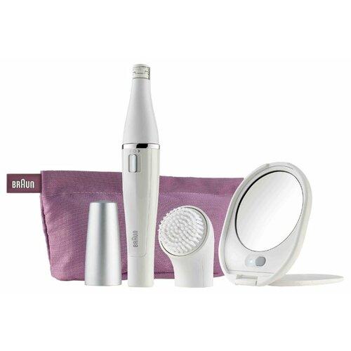 Эпилятор Braun SE 830/831 Face белый/розовый
