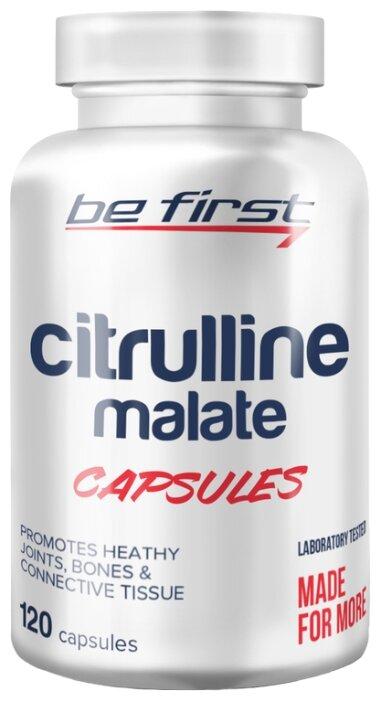 Аминокислота Be First Citrulline Malate Capsules (120 шт.)