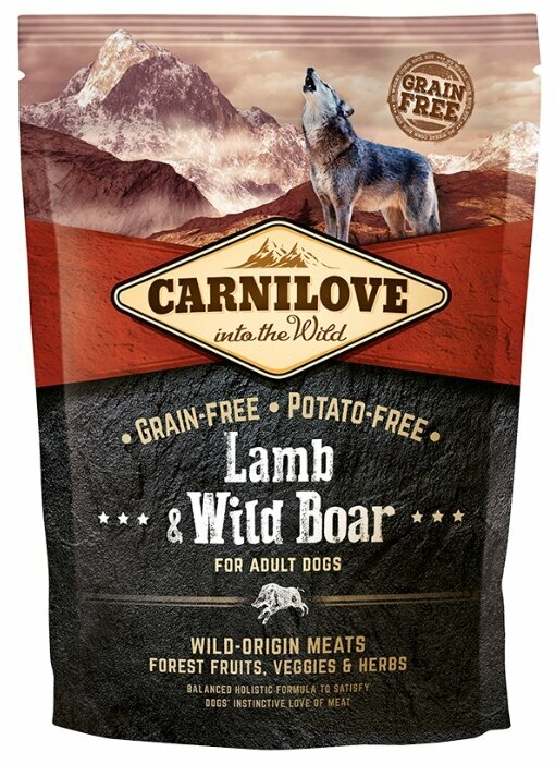 Корм для собак Carnilove Carnilove Lamb & Wild Boar for adult dogs (1.5 кг)