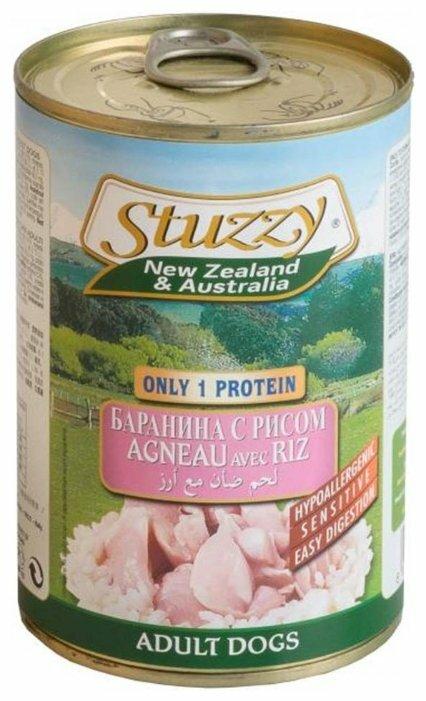 Корм для собак Stuzzy New Zealand & Australia Баранина с рисом