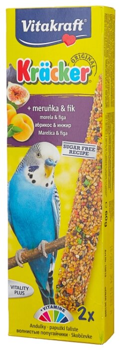 Лакомство для птиц Vitakraft Крекеры фруктовые (10610)