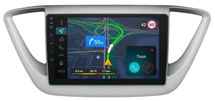 Бортовой компьютер Яндекс.Авто для Hyundai Solaris (с 2017 года)