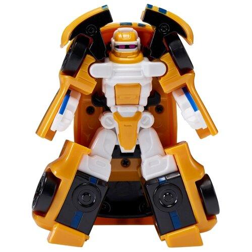 Купить Трансформер YOUNG TOYS Tobot Mini Athlon Theta 301064 желтый, Роботы и трансформеры