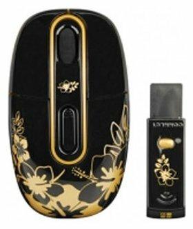 Мышь G-CUBE G4MR-1020RG Black-Gold USB