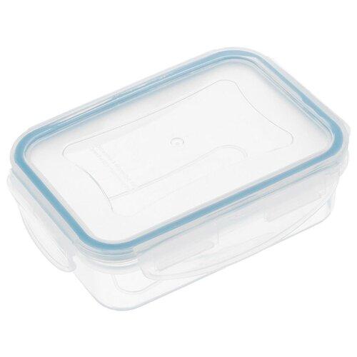 Фото - Tescoma Контейнер Freshbox 0.2 л прямоугольный голубой/прозрачный tescoma контейнер freshbox 2 л