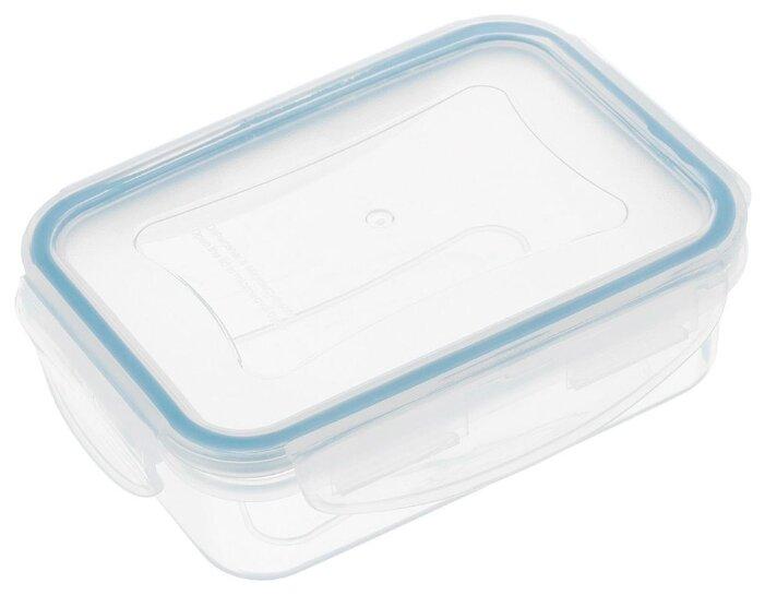 Tescoma Контейнер Freshbox 0.2 л прямоугольный голубой/прозрачный